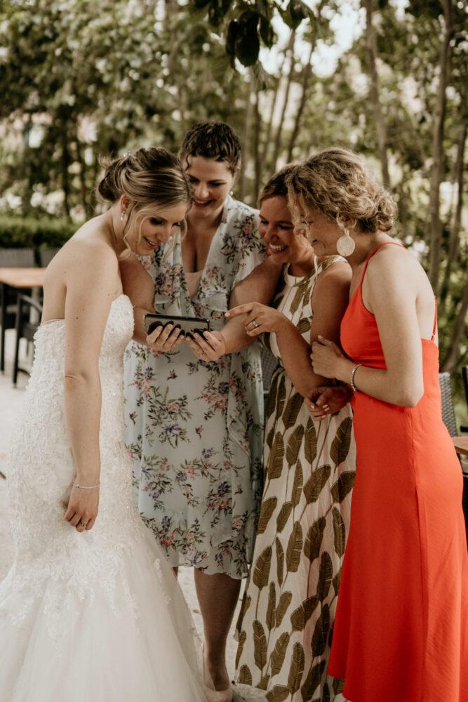 Bruiloft Trouwfotografie Bruidsmeisjes Nieuwerkerk aan den IJssel
