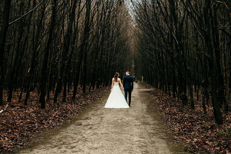Trouwforografie bruiloft Bruidspaar Rotterdam