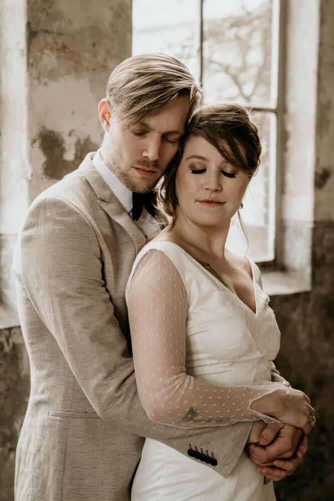 Bruiloft Trouwfoto Fabriek Zuidermeer